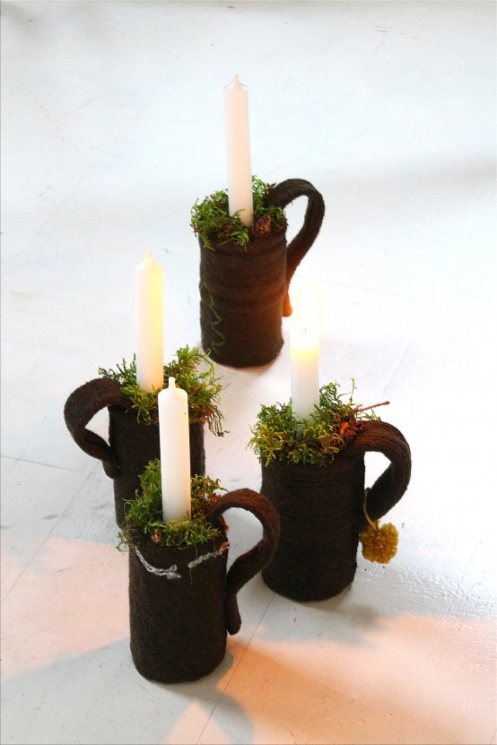 Advent, Advent ... *Dosen-Tassen-DIY* Adventsdekoration Tassen aus Dosen DIY (Bildquelle: Living & Green)