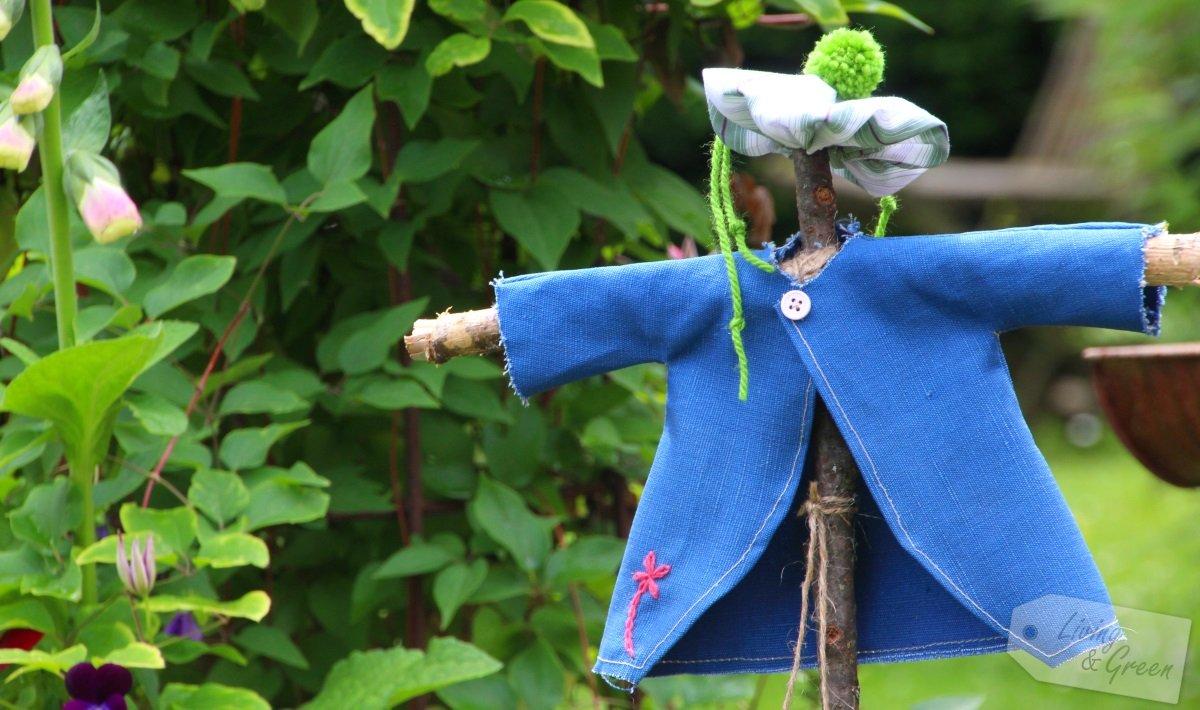 It\'s fun *Mini-Vogelscheuchen-DIY* * Living & Green