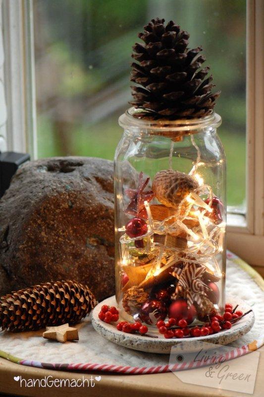 Zeigt uns eure weihnachtsdekoration bitte teil 4 living green - Weihnachtsdekoration modern ...
