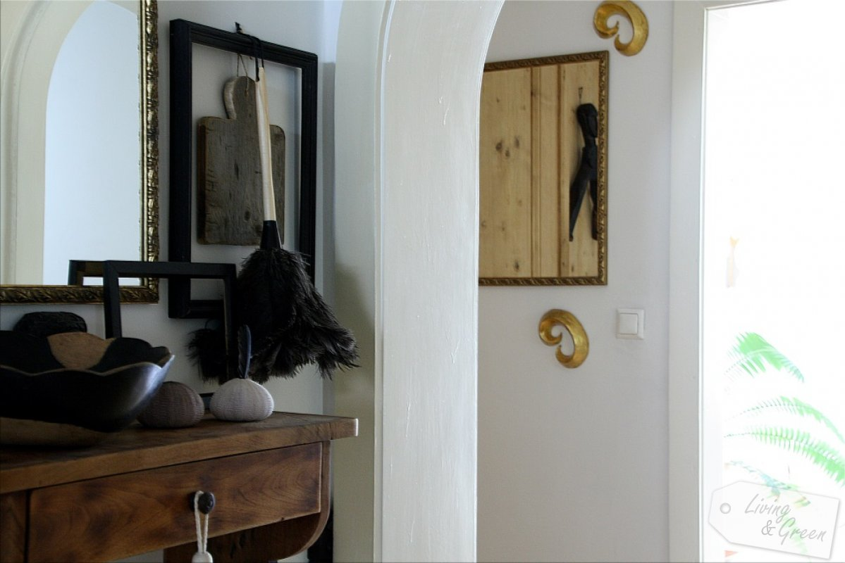 der flur kleiner raum ganz gro living green. Black Bedroom Furniture Sets. Home Design Ideas
